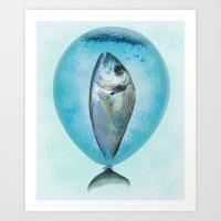 BalloonFish Art Print