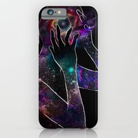 Girl with the Universe inside of her. iPhone 6 Slim Case