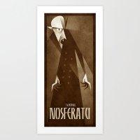 Nosferatu 1922 Art Print