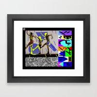 ショッピングワー… Framed Art Print
