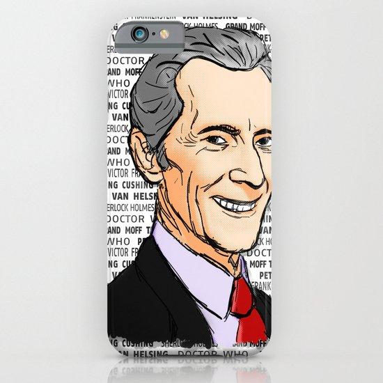 Peter Cushing iPhone & iPod Case