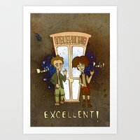 Bill & Ted's Excellent A… Art Print