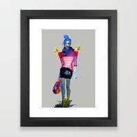 Models Ink 13 Framed Art Print