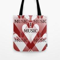 Yo Amo La Música Tote Bag