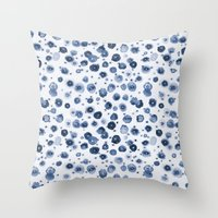 Water Life Throw Pillow