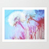 Siamese Dandies Art Print