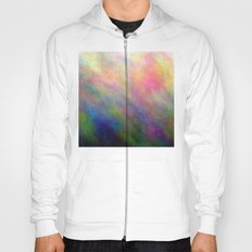 fire meditation pose Hoody