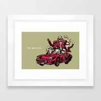 Ain't Nobody Fuckin' With My Clique Framed Art Print