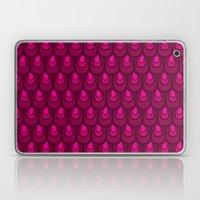 Pink Vintage Feather Pat… Laptop & iPad Skin