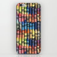 neverending box of crayons iPhone & iPod Skin