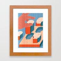 Corporate HR Framed Art Print