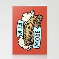 A La Mode Stationery Cards