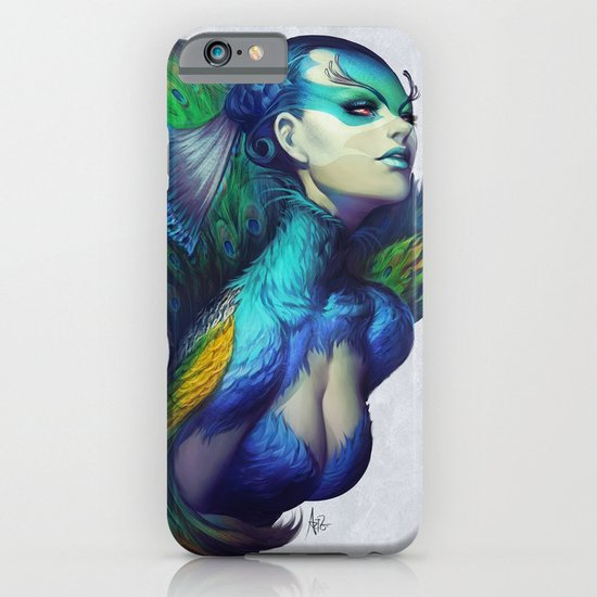 Peacock Queen iPhone & iPod Case