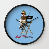 Short Film Director Wall Clock