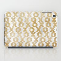 Xoxo Gold iPad Case