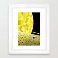 Lost In Time And Space Framed Art Print