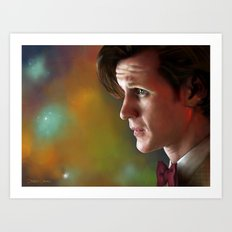 'Ancient and Forever' - (Doctor Who) Art Print