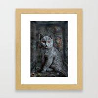 cats instantaneous Framed Art Print