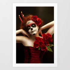 Day of the dead #2 Art Print