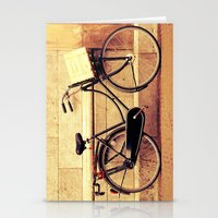 bicycle Stationery Cards featuring Bicycle by Indigo Rayz