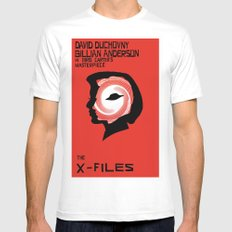 The X-Files as Vertigo Mens Fitted Tee White SMALL