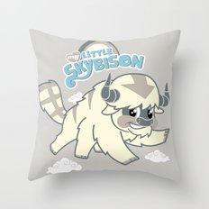 My Little Sky Bison  Throw Pillow