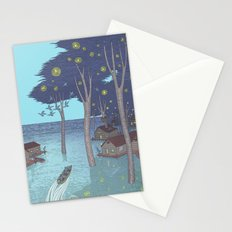 port of tomorrow Stationery Cards