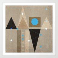 Geometric/Abstract 7 Art Print