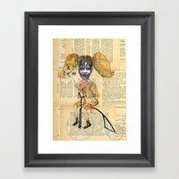 La Exorcista en triciclo Framed Art Print