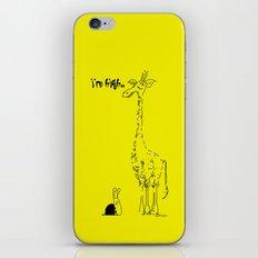 High Giraffe iPhone & iPod Skin