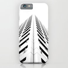 Keep Your Aim High (White Symmetry) iPhone 6s Slim Case