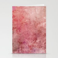 Pink Texture Stationery Cards