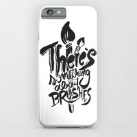 There's something about brushes iPhone 6 Slim Case