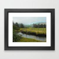 Mystery In Mist Framed Art Print
