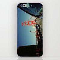 Golden Gate Bridge; Mid-… iPhone & iPod Skin
