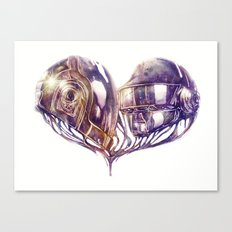 Daft Punk of Love Canvas Print