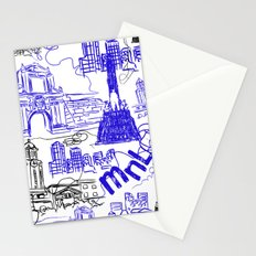 Manila Stationery Cards