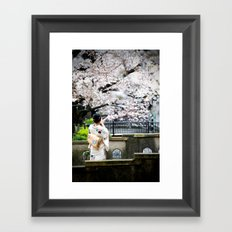 Kiyamachi Kimono, Kyoto Framed Art Print