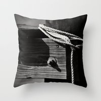 Mooring Throw Pillow