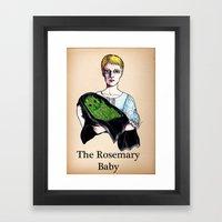 THE ROSEMARY BABY Framed Art Print