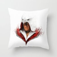 AWAKENING OF THE SIXTH Throw Pillow