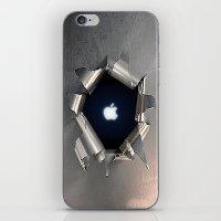 Apple Hole iPhone & iPod Skin