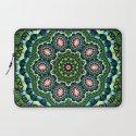 Mystical Lily Pond Mandala Laptop Sleeve