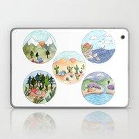 Campsite Selection Laptop & iPad Skin