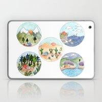 Campsite Selection Laptop & iPad Skin