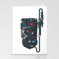 Proton Pack, Ghostbuster… Stationery Cards