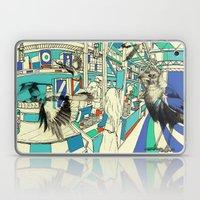 Coffee Bird Laptop & iPad Skin