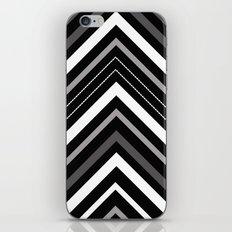 Black and white Chevron iPhone & iPod Skin
