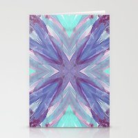 Watercolor Abstract Stationery Cards