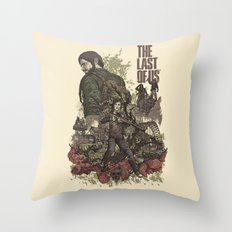 The Last Of Us Artwork Throw Pillow